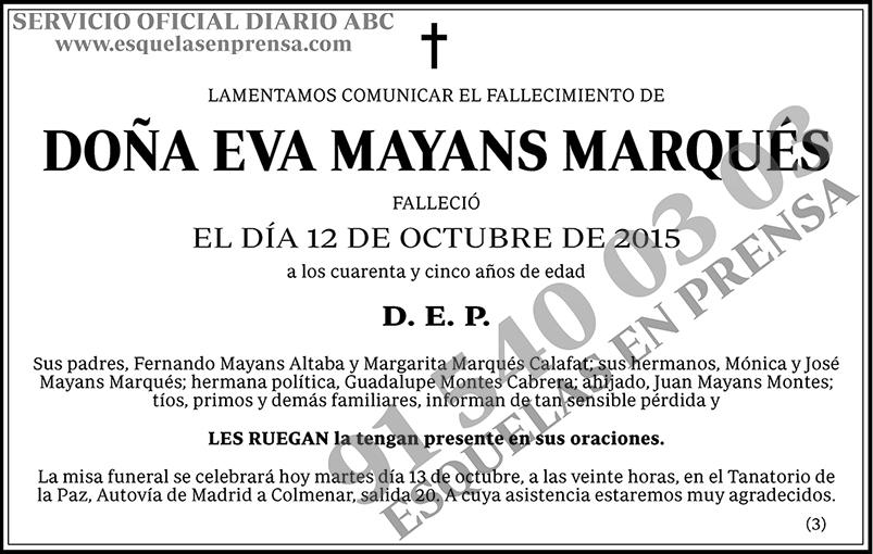 Eva Mayans Marqués
